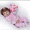 Лялька реборн Alysi силіконова Соломія 57см. (EDNJ)