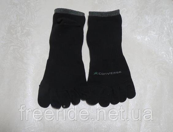 Носки спортивные Converse короткие (39-42) с пальцами, фото 2