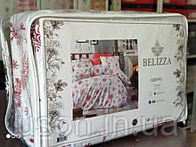 Одеяло силиконовое чехол фланель Тм Belizza Snow red