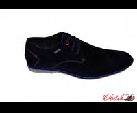 Туфли мужские Carlo Pachini замша синие CP0003