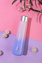 Умный термос с ЖК-экраном, который напоминает пить воду. Smart bottle. Цвет: градиент
