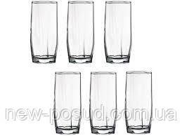 Набір склянок для води 220 мл на 6 предметів Casablanca Pasabahce 42858