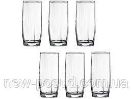 Набор стаканов для воды 220 мл на 6 предметов Hisar Pasabahce 42858