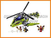 """Конструктор BELA серии """"Ninja/ниндзяго"""" - """"Змеиный Вертолет"""" 330 деталей арт.9757"""
