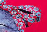 Футболка для девочки р.116 Cute Cats SmileTime , розовый коралл, фото 2