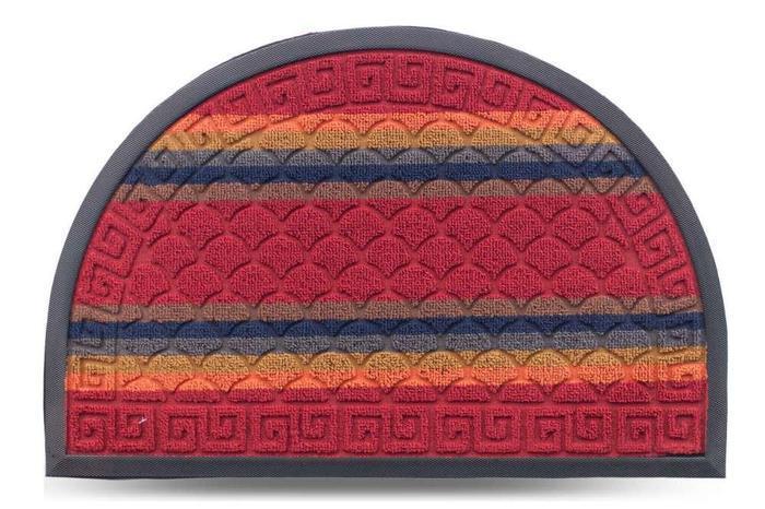 Коврик придверный Multicolor 40х60см красный