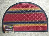 Коврик придверный Multicolor 40х60см красный, фото 2