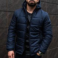 Мужская теплая Курточка Asos с капюшоном, зимняя куртка на флисе! Premium силикон!