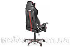 Геймерское компьютерное кресло Barsky VR Cyberpunk Red CYB-03, фото 2