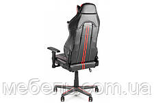 Геймерское компьютерное кресло Barsky VR Cyberpunk Red CYB-03, фото 3