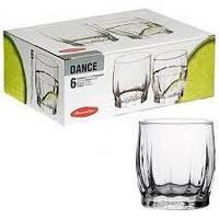 Набор стаканов для виски 290 мл 6 предметов Dance Pasabahce 42865