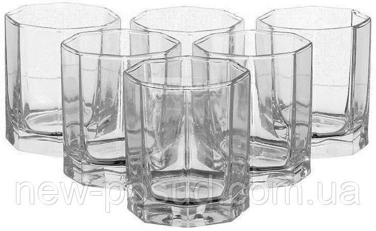Набір склянок для соку 200 мл 6 предметів Kosem Pasabahce 42035