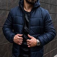 Куртка мужская Asos с капюшоном, теплая зимняя курточка на флисе до (-15)°C!