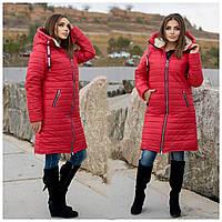 Зимняя женская куртка на овчине,размеры:48-50,52-54,56-58,60-62.