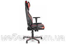 Геймерское компьютерное детское кресло Barsky VR Cyberpunk Red CYB-03, фото 3