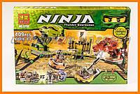 """Конструктор BELA серии """"Ninja/ниндзяго"""" - """"Змеиная Арена"""" 409 деталей арт.9758"""