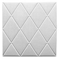 Самоклеющаяся декоративная потолочная 3D панель 700x700х8мм