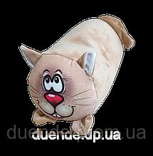 Валик игрушка велюр антистресс, полистерольные шарики, размер 30*20 см