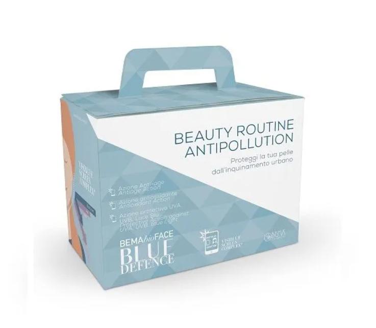 Набор косметики для лица органический BLUE DEFENCE Bema , 3 ед. 50мл, 30 мл, 20 мл