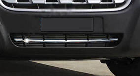 Opel Movano 2010↗ рр. Смужка в бампер (нерж)