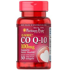 Витамины и минералы Puritan's PrideCo Q-10 100mg (Q-SORB) (30 капсул.)