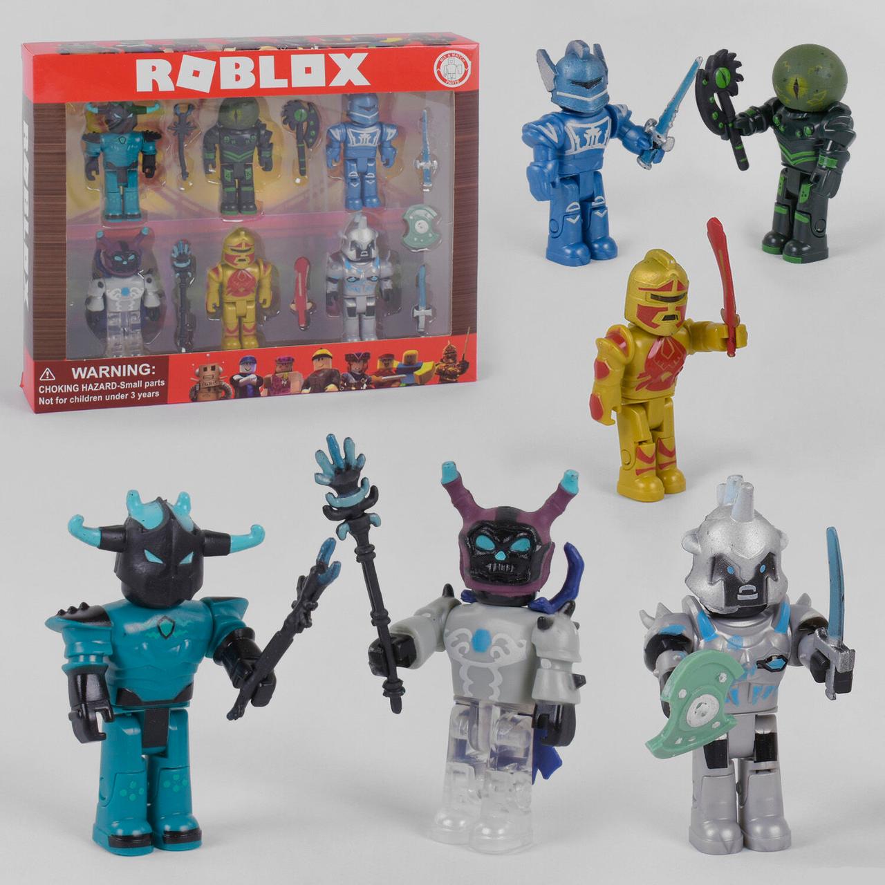 Большой набор фигурки Роблокс 6 в1 игрушки Roblox