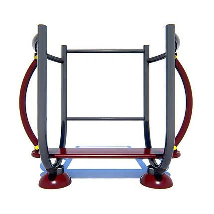 Тренажер для приводящих и отводящих мышц бедра, фото 2