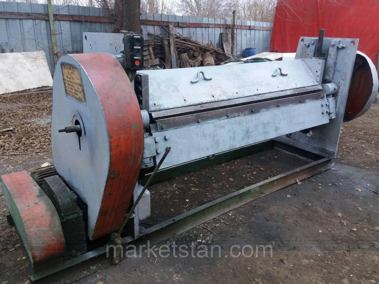 Листогиб ЛС-6 механический с поворотной гибочной балкой (Машина листогибочная) 3-4*2000 мм
