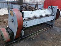 Листогиб ЛС-6 механический с поворотной гибочной балкой (Машина листогибочная) 3-4*2000 мм, фото 1
