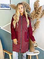 Пальто с кашемировым рукавом, фото 1