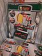 Игровой набор для мальчика мастерская, инструменты, верстак, каска, фото 9