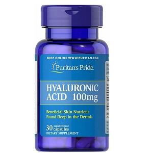Гиалуроновая кислота Puritan's PrideHyaluronic Acid 100 mg (30 капсул.)