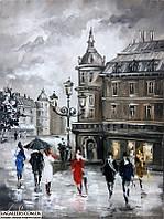 «Виды Львова» картина маслом