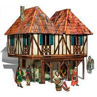 Сборная модель Умная бумага Дом бюргера серии Средневековый город (282)