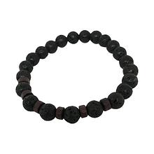 Мужской браслет из вулканического камня, шт. (арт. 015)