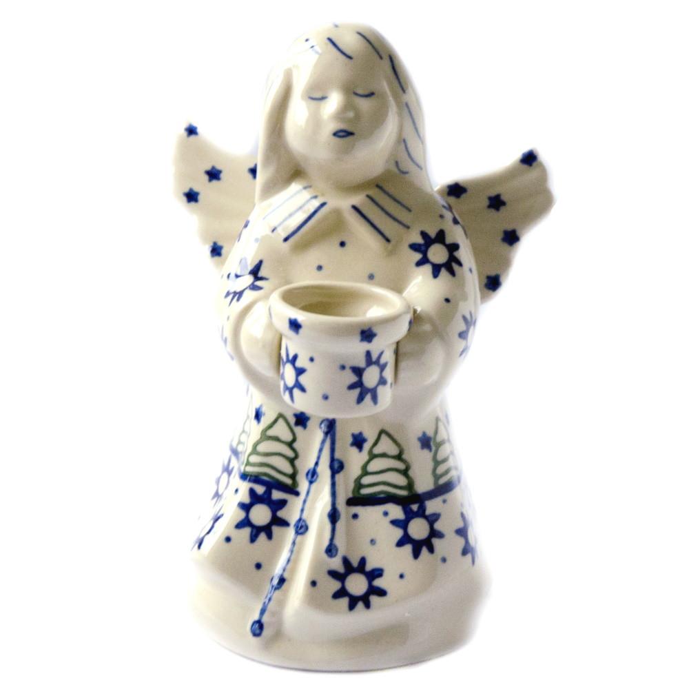 Керамический подсвечник Ангел Amy