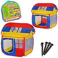 Детская игровая палатка домик , 92х110х114 см (M 0508)