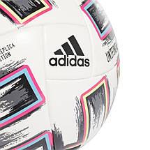 Мяч футбольный Adidas Euro 2020 Competition Ball FJ6733 №4 Белый, фото 2