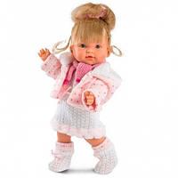 Llorens Кукла Валерия 28 см вязаная одежда