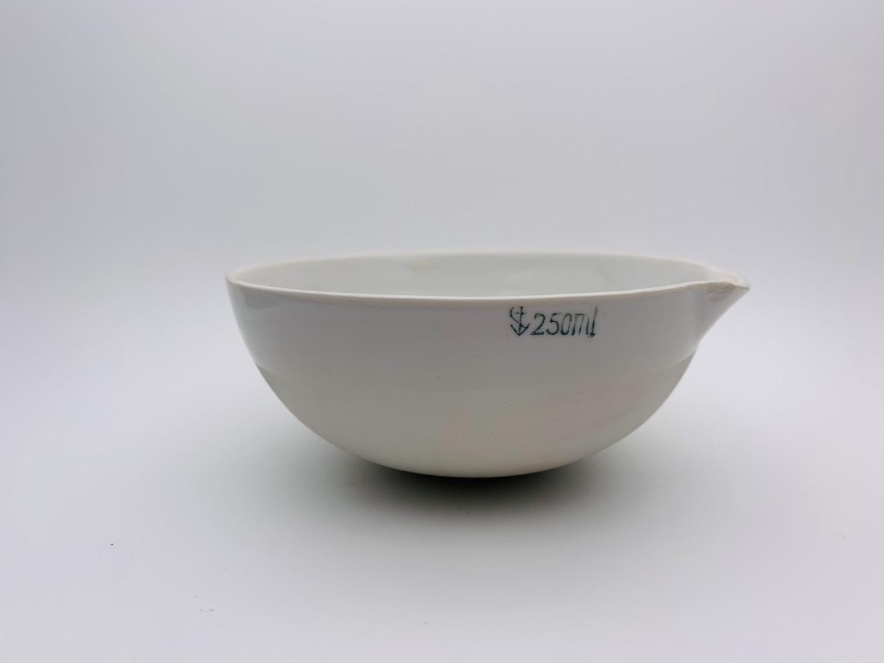 Чаша испарительная фарфоровая 250мл