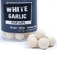 Бойли World4Carp плаваючі White Garlic, 12 мм Часник Білий