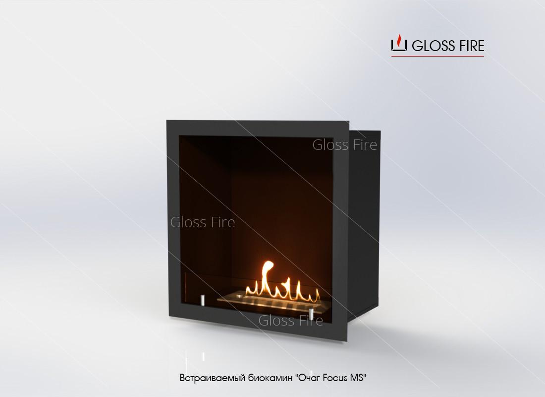 Встраиваемый биокамин «Очаг Focus MS-арт.010» GlossFire (Focus010)