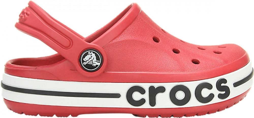 Детские кроксы Crocs Bayaband Kids красные С8 / 15,0 - 15,5 см