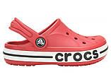 Детские кроксы Crocs Bayaband Kids красные С8 / 15,0 - 15,5 см, фото 2