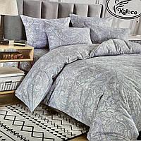 Постельное белье Евро размер | Фланелевый комплект постельного белья. Хорошее качество.