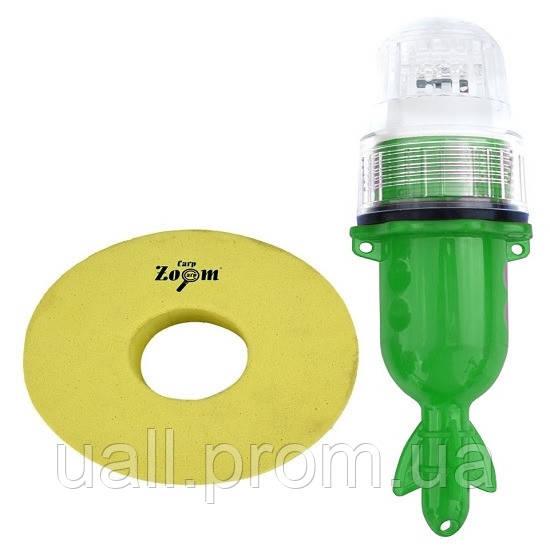 Поплавок Маркерний Carp Zoom Світлодіодний з датчиком день\ніч Зелений
