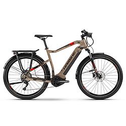 """Электровелосипед треккинговый Haibike SDURO Trekking 4.0 men i500Wh 10 s. Deore 28"""", рама XL, коричневый, 2020"""