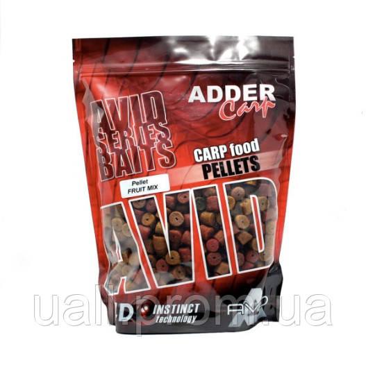 Пелець Adder Carp Mikro Pellet Avid Fruit Mix 300g (2mm) (Фруктовий мікс)