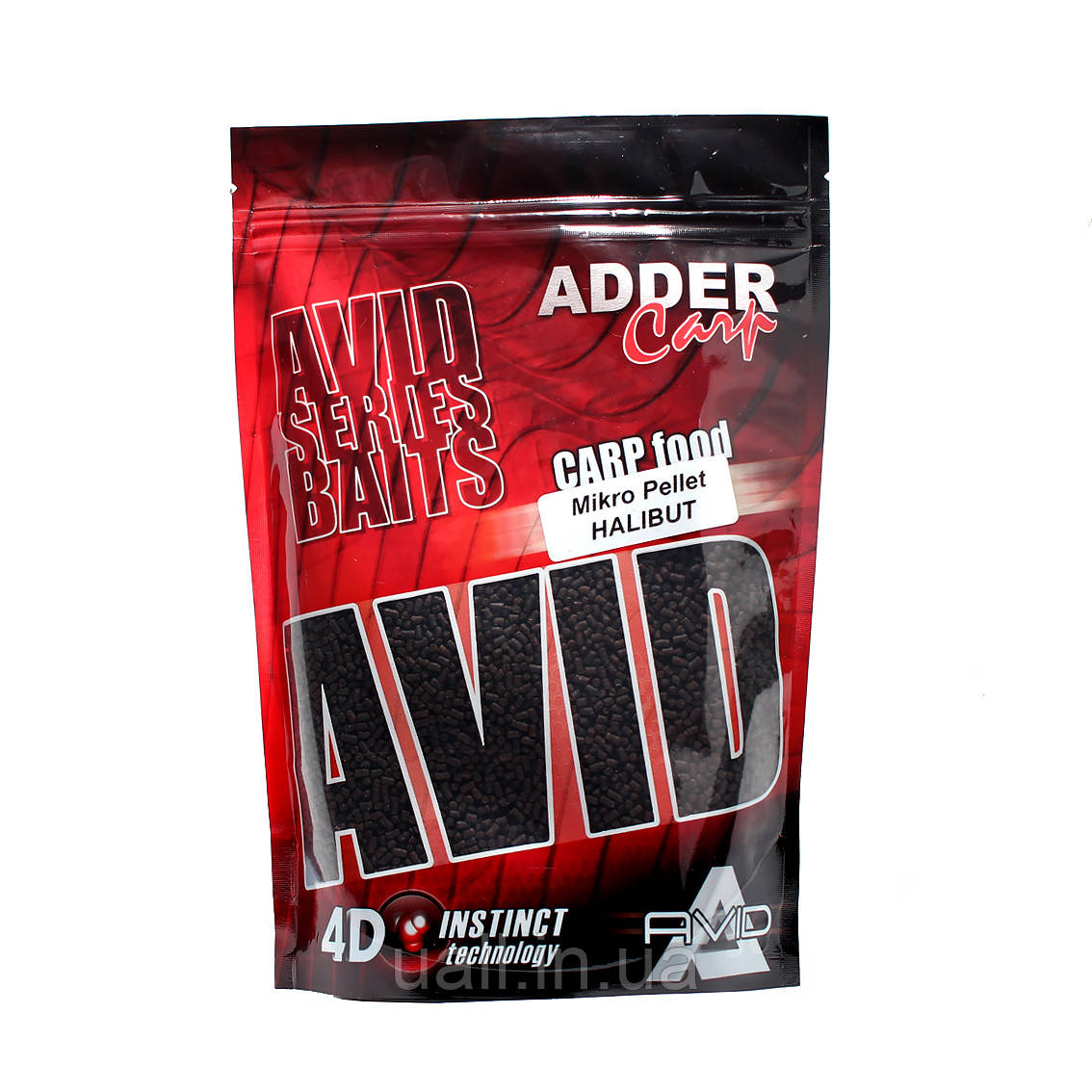 Пелець Adder Carp Mikro Pellet Avid Halibut 300g (2mm) (Халібут)