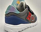 Кросівки дитячі на хлопчика Tom.M 7175B темно-сині. 22-27 розміри, фото 4